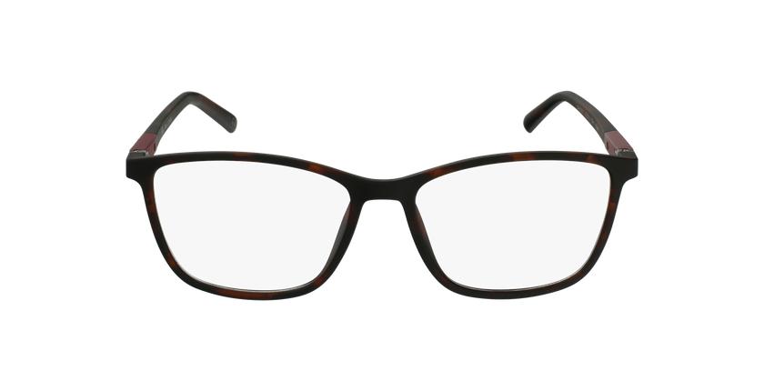 Lunettes de vue homme LOUANE écaille/rose - Vue de face
