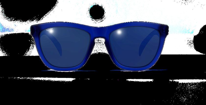 Lunettes de soleil enfant ZAMORA bleu - Vue de face
