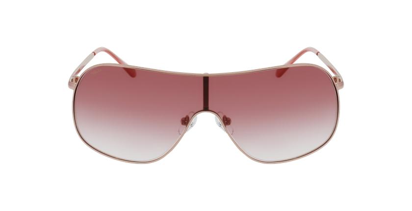Lunettes de soleil femme SURRI rose - Vue de face