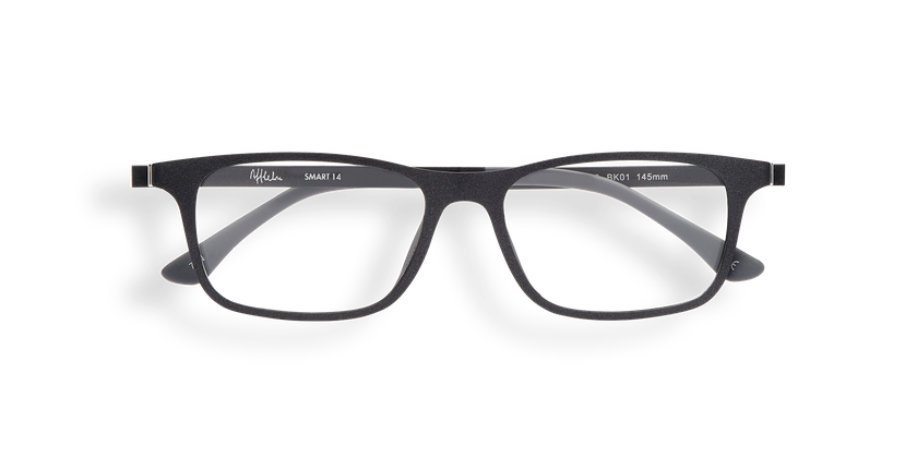 Lunettes de vue homme SMART TONIC 14 noir - Vue de face
