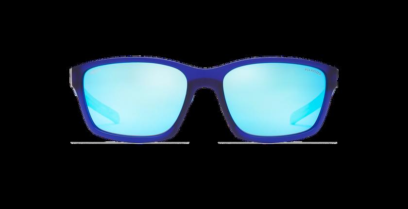 Lunettes de soleil homme MIKE bleu - Vue de face