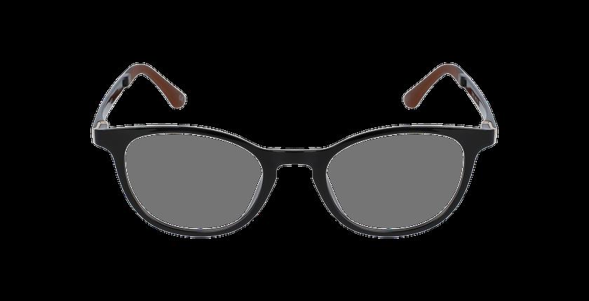 Lunettes de vue femme SMART TONIC 18 noir/noir brillant - Vue de face
