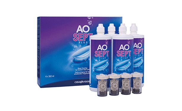 Aosept plus Hydraglide 3x360ml