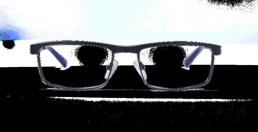 Lunettes de vue homme WILLIAM bleu - Vue de face