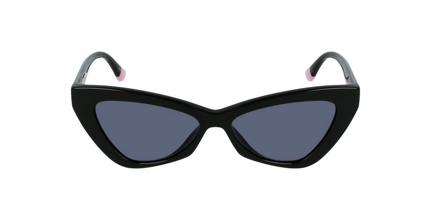 Lunettes de soleil femme VS0022 noir - Vue de face