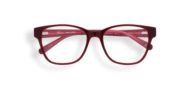 Lunettes de vue femme KIERA rouge