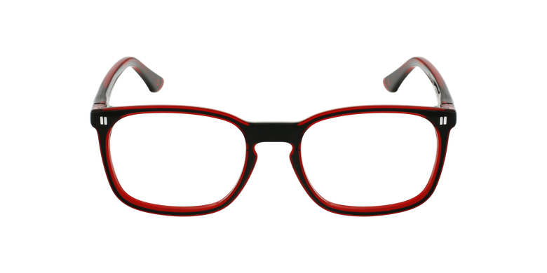 Lunettes de vue enfant RFOJ2 noir/rouge