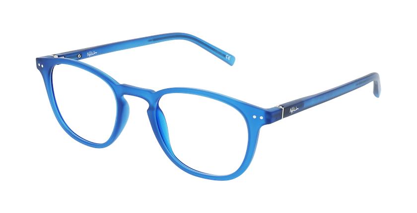 Lunettes de vue BLUE BLOCK 1 MIXTE bleu - vue de 3/4