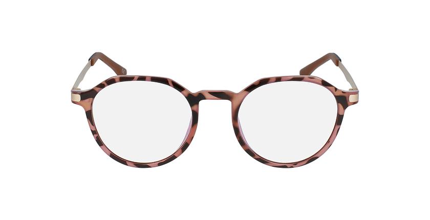 Lunettes de vue femme MAGIC 39 écaille/rose - Vue de face