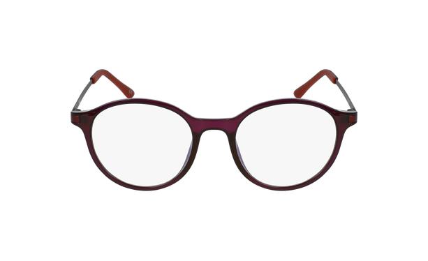 Lunettes de vue femme MAGIC 37 violet - Vue de face