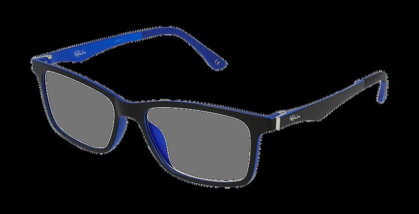 Lunettes de vue homme MAGIC 32 BLUEBLOCK noir/bleu - vue de 3/4