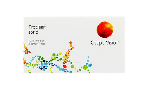 Lentilles de contact Proclear® Toric 6L - Vue de face