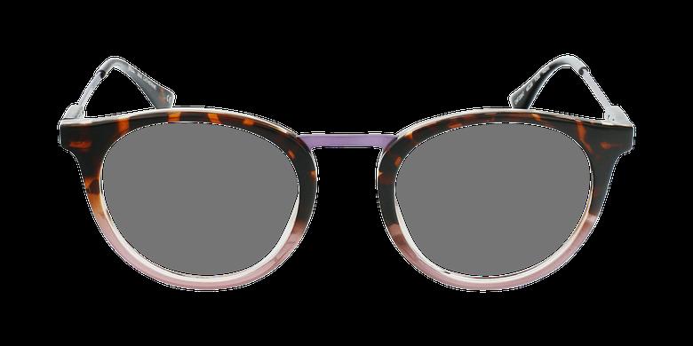 Lunettes de vue CATHERINE écaille/violet