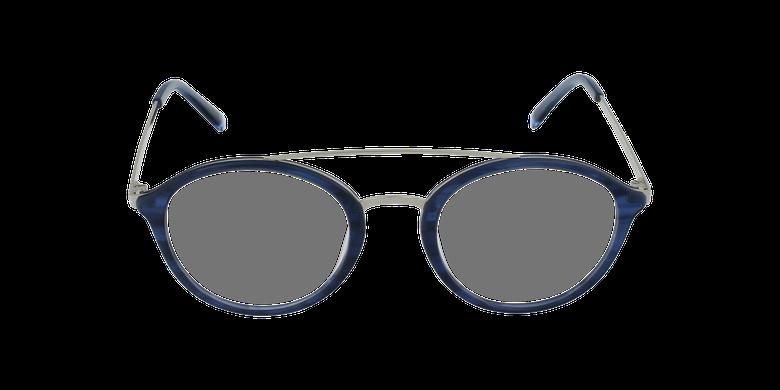 Lunettes de vue ROSSINI bleuVue de face