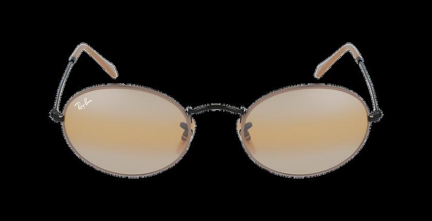 Lunettes de soleil 0RB3547 noir/beige - Vue de face