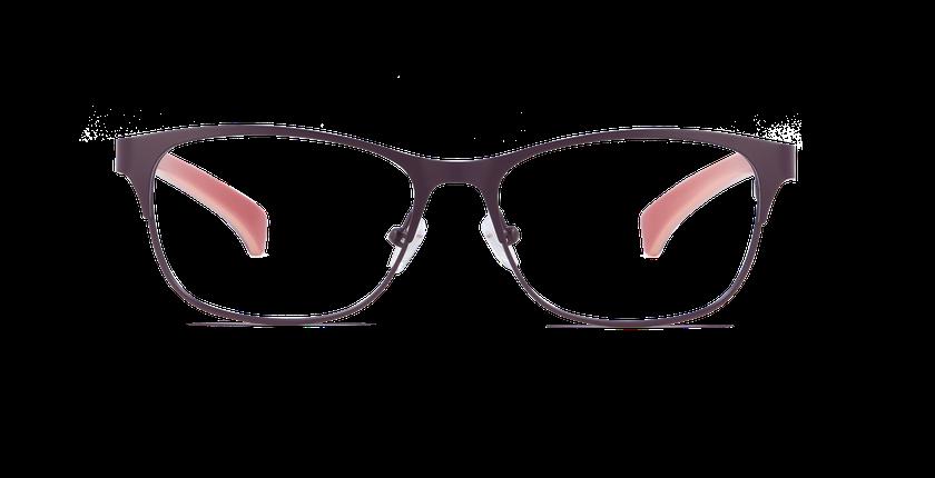 Lunettes de vue femme CALVIN KLEIN JEANS violet - Vue de face