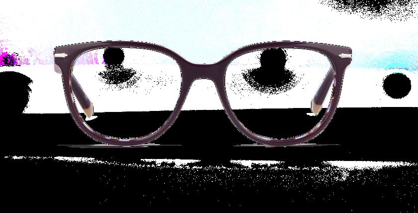 Lunettes de vue femme WINDSOR violet/écaille - Vue de face