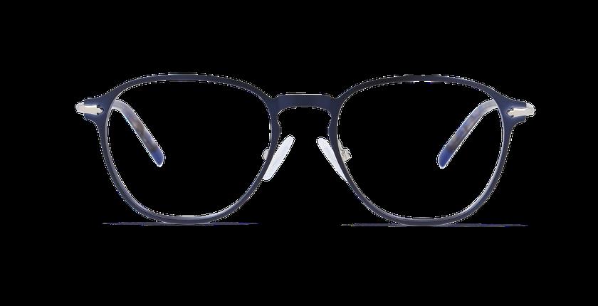 Lunettes de vue homme GALWAY bleu - Vue de face