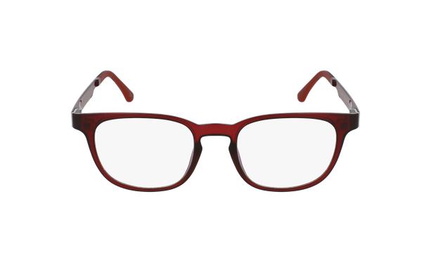 Lunettes de vue homme MAGIC 33 rouge - Vue de face