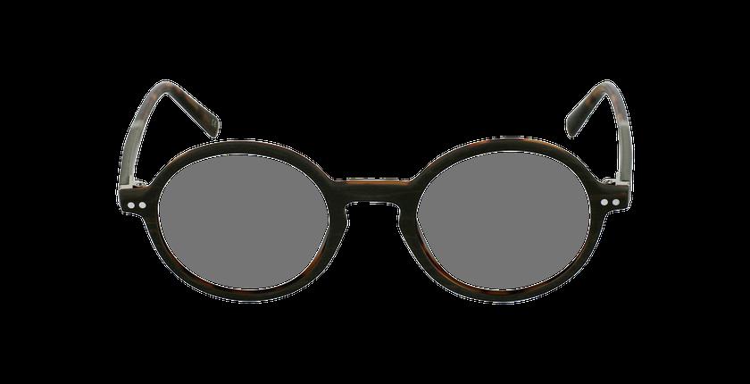 Lunettes de vue BERLIOZ marron - Vue de face