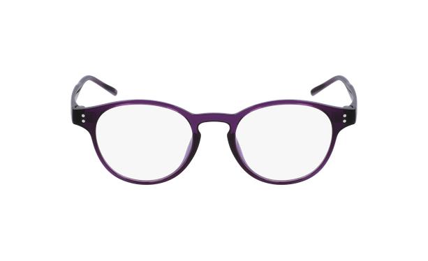 Lunettes de vue MAGIC 48 violet - Vue de face