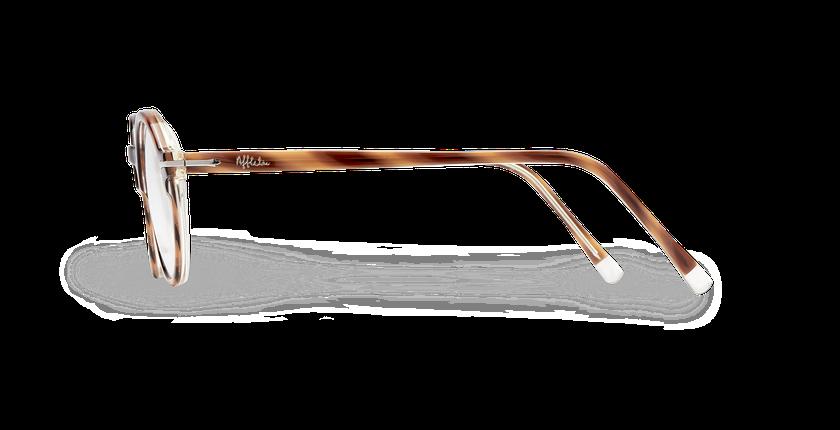 Lunettes de vue homme MORBIER écaille/argenté - Vue de côté