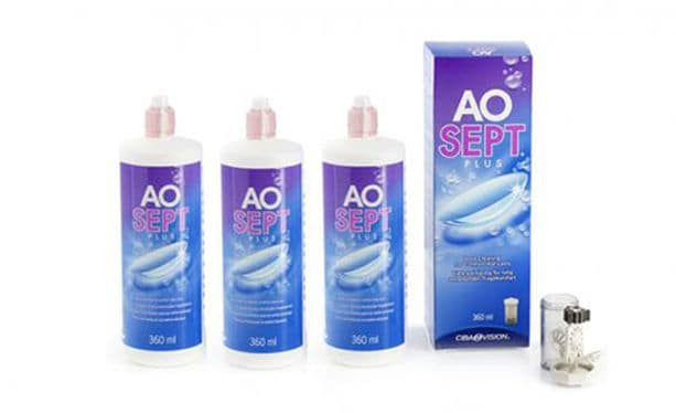 Aosept Plus 3x360ml
