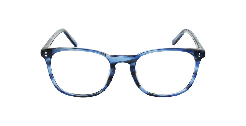 Lunettes de vue homme MAXENCE bleu - Vue de face