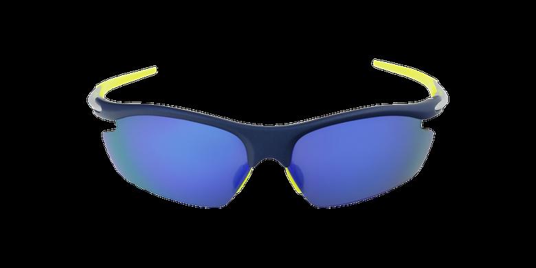 Lunettes de soleil homme Leisure bleuVue de face