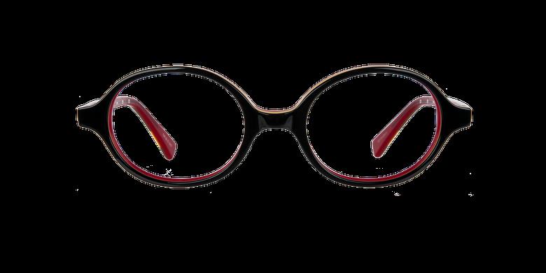 Lunettes de vue enfant KEVIN noir/rouge