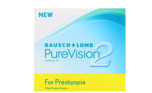 Lentilles de contact PureVision 2 HD for Presbyopia 6L - Vue de face
