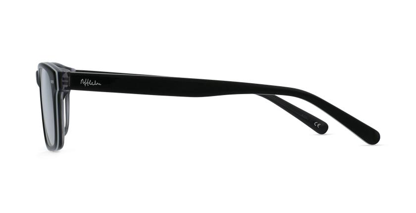 Lunettes de vue enfant TED noir/blanc - Vue de côté