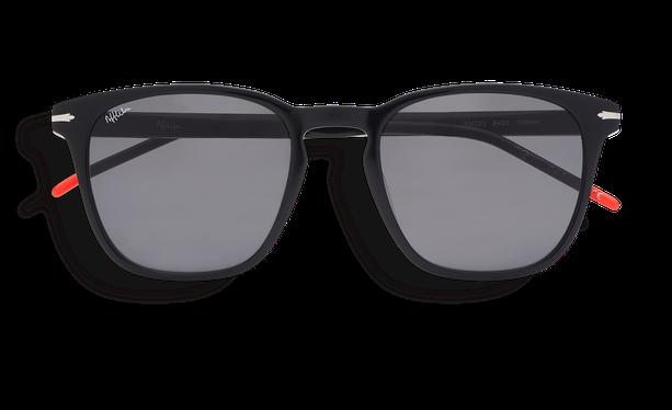 Lunettes de soleil homme HUNTER noir - danio.store.product.image_view_face