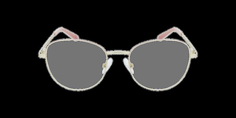 Lunettes de vue femme LISSOU rose/doré