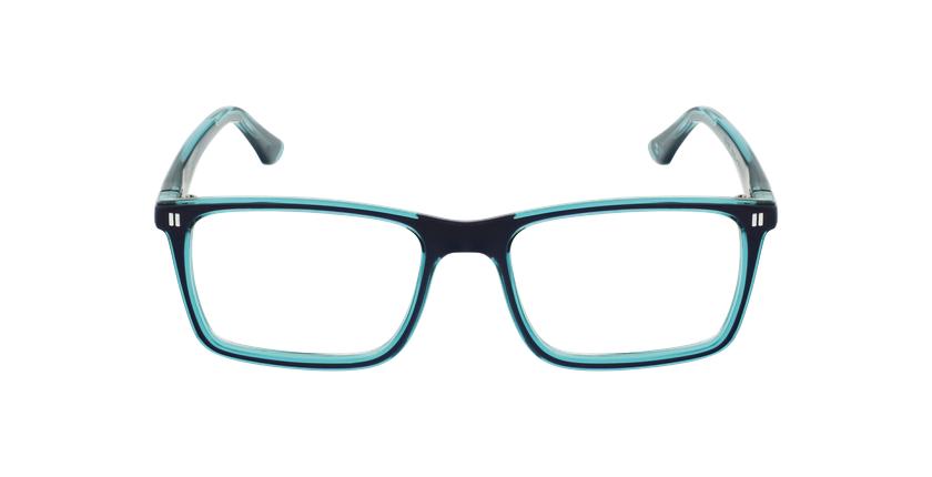 Lunettes de vue enfant REFORM TEENAGER1 bleu/turquoise - Vue de face