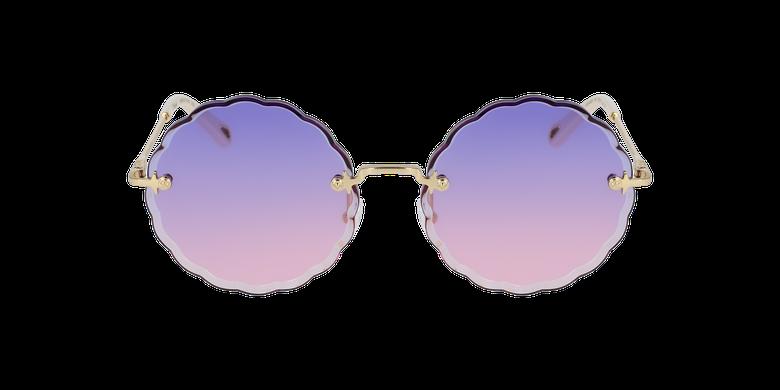 Lunettes de soleil femme CE142S violet/doré
