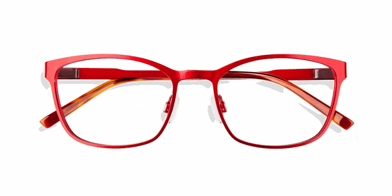 Lunettes de vue femme ALPHA5 rouge