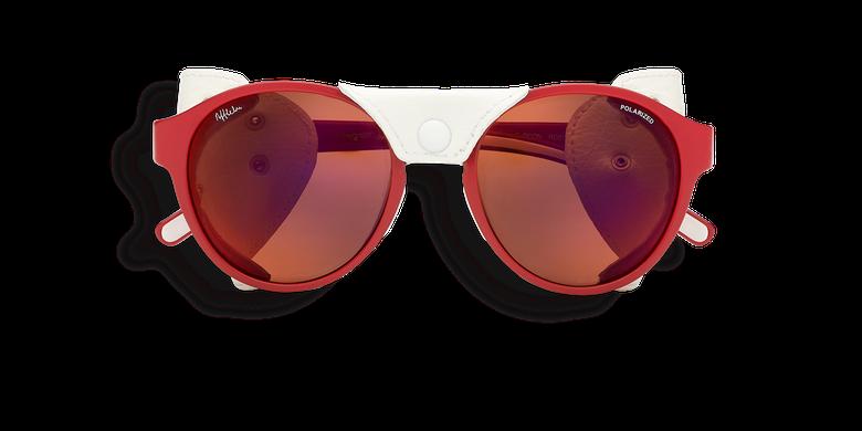 Lunettes de soleil femme FLOCON rouge