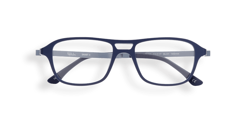 Lunettes de vue homme SMART TONIC 06 bleu - Vue de face