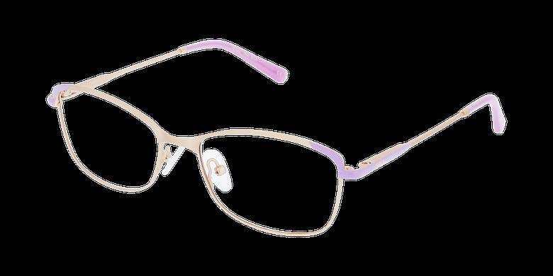 Lunettes de vue femme ELIA doré/violet