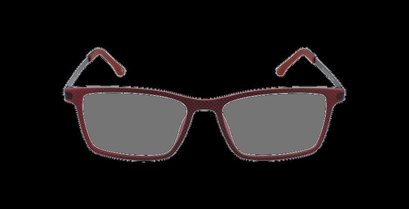 Lunettes de vue homme MAGIC 19 rouge - Vue de face
