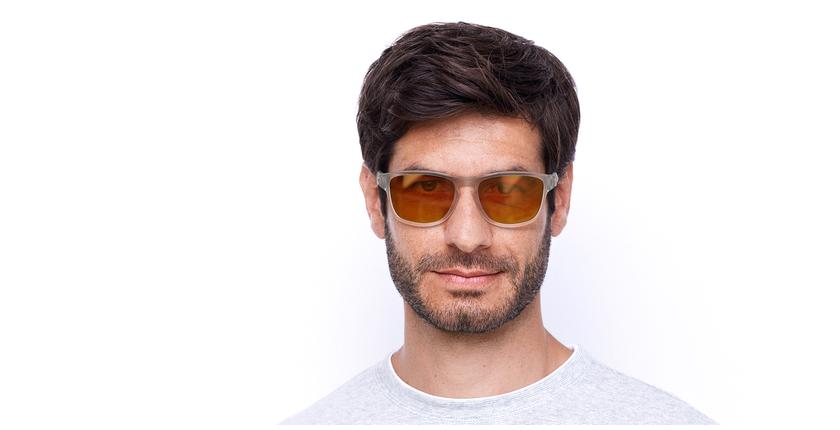 Lunettes de soleil Rize cristal - Vue de face