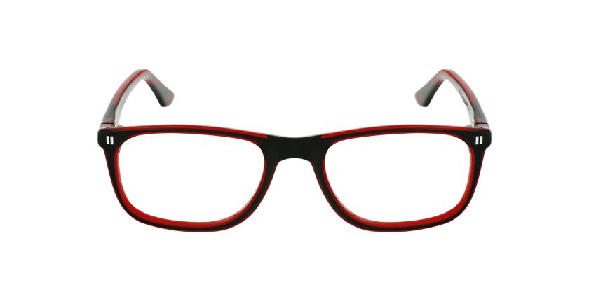 Lunettes de vue enfant REFORM TEENAGER3 noir/rouge - Vue de face