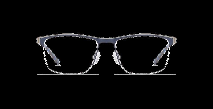 Lunettes de vue homme ALPHA16 bleu/gris - Vue de face