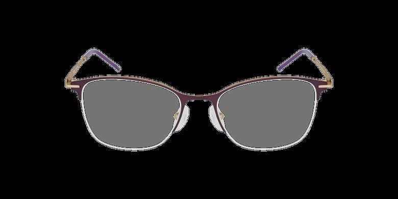 Lunettes de vue femme VEGA violet/doré