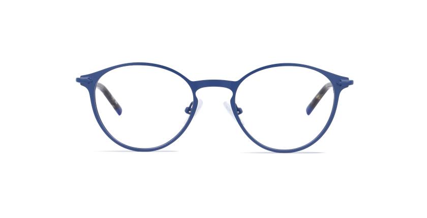 Lunettes de vue homme DUBLIN bleu - Vue de face