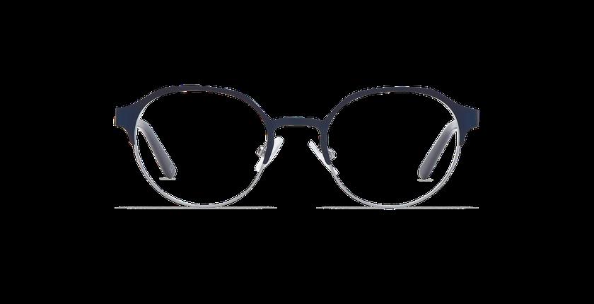 Lunettes de vue ISAAC bleu/gris - Vue de face