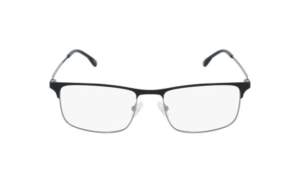 Lunettes de vue homme MAGIC 51 noir/gris - Vue de face