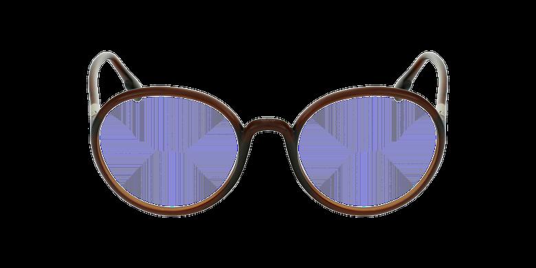 Lunettes de vue femme SOSTELLAIREO2 marronVue de face