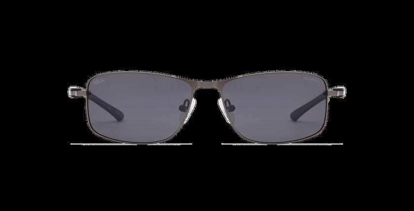 Lunettes de soleil homme ONATI POLARIZED gris/noir - Vue de face